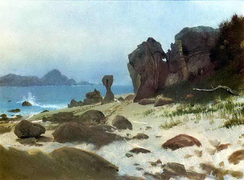 Залив Монтерей. Альберт Бирштадт