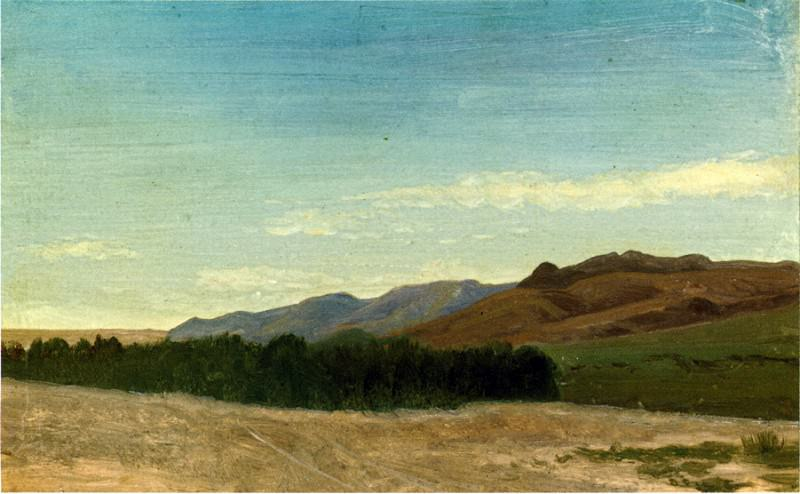 Равнины Рядом с Форт-Ларами. Альберт Бирштадт