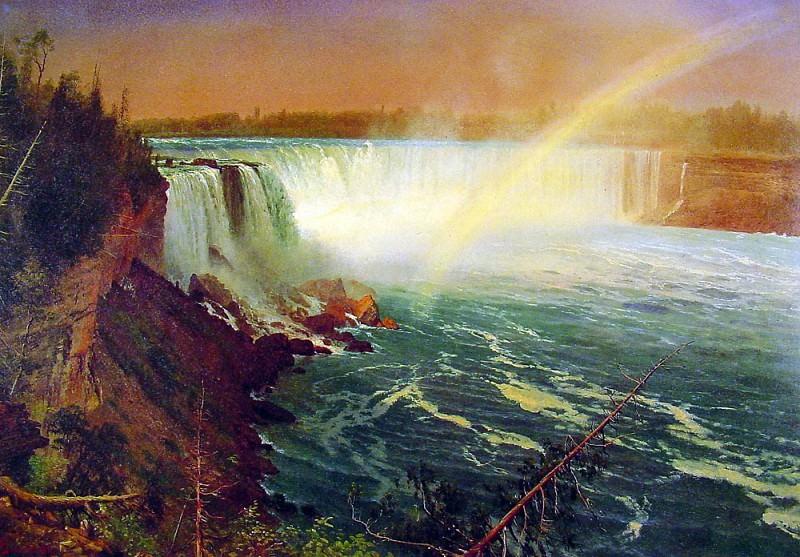 Niagra. Albert Bierstadt
