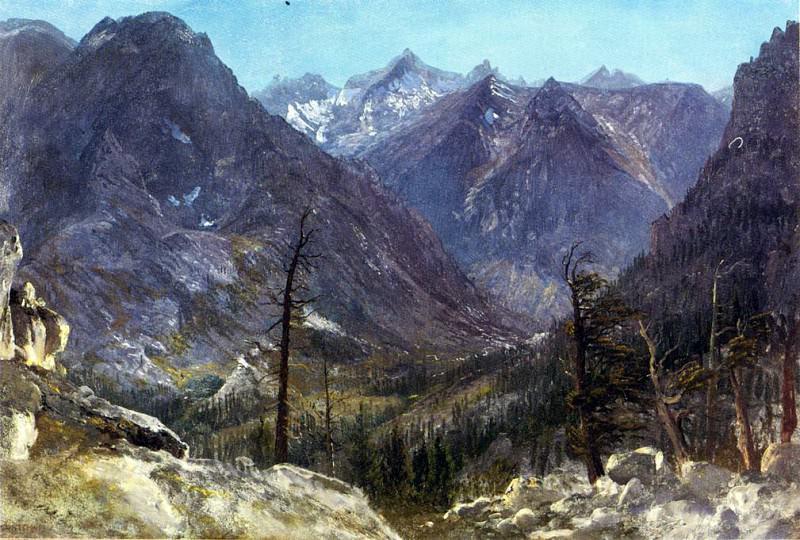 Bierstadt Albert Estes Park Colorado. Albert Bierstadt