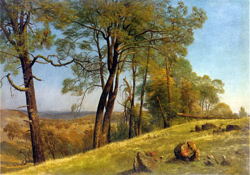 Bierstadt Albert Landscape Rockland County California. Albert Bierstadt