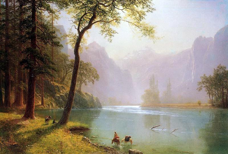 В долине реки Керн, Калифорния. Альберт Бирштадт