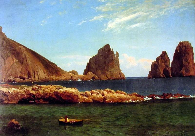 Capri. Albert Bierstadt