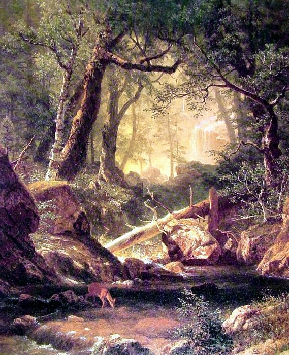 White Mountains. Albert Bierstadt