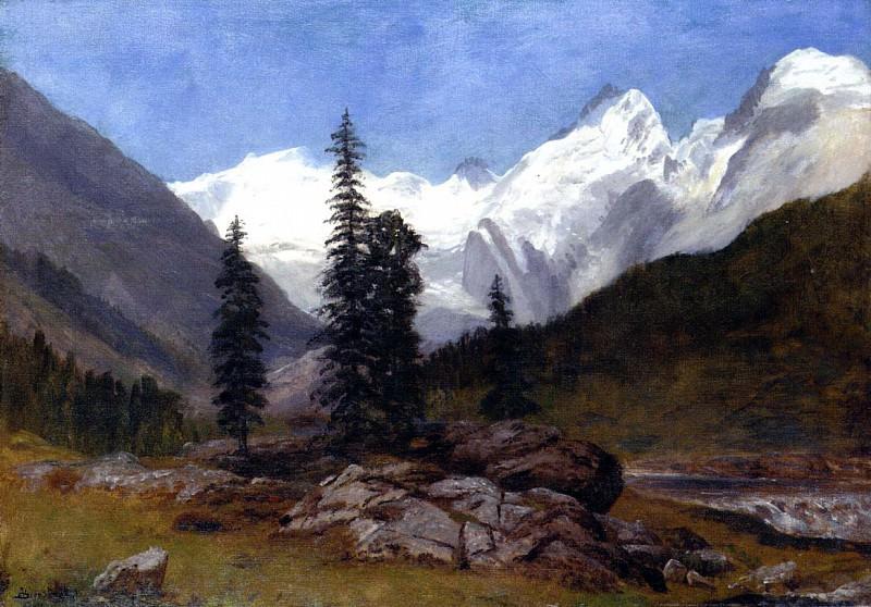 Bierstadt Albert Rocky Mountain. Albert Bierstadt