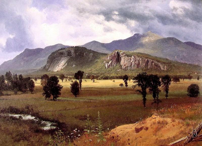 Moat Mountain Intervale New Hampshire. Albert Bierstadt