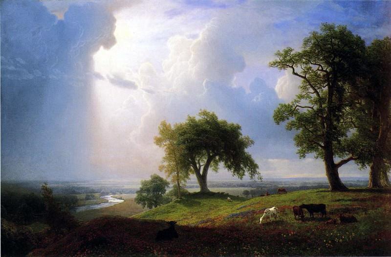 Bierstadt Albert California Spring. Albert Bierstadt