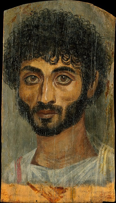 Unknown - Portrait of a thin-faced, bearded man. Metropolitan Museum: part 4