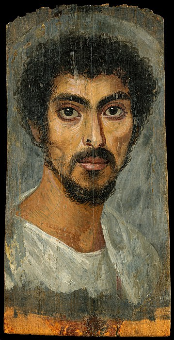 Unknown - Portrait of a man with a mole on his nose. Metropolitan Museum: part 4