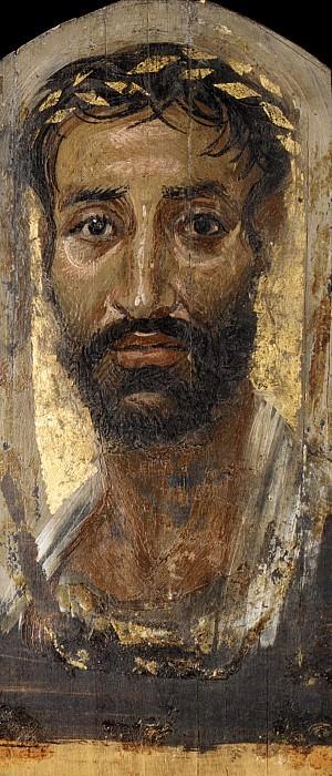 Неизвестный художник - Портрет узколицего человека. Музей Метрополитен: часть 4