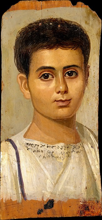 Unknown - Portrait of the Boy Eutyches. Metropolitan Museum: part 4