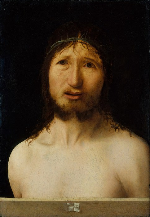 Antonello da Messina (Italian, Messina ca. 1430–1479 Messina) - Christ Crowned with Thorns. Metropolitan Museum: part 4