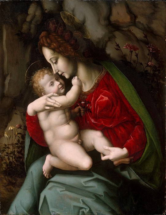 Bachiacca (Italian, Florence 1494–1557 Florence) - Madonna and Child. Metropolitan Museum: part 4
