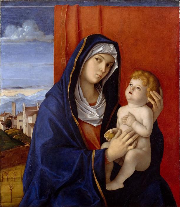 Джованни Беллини - Мадонна с младенцем. Музей Метрополитен: часть 4