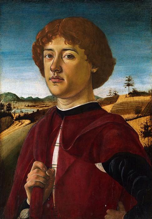 Бьяджо д'Антонио - Портрет молодого человека. Музей Метрополитен: часть 4
