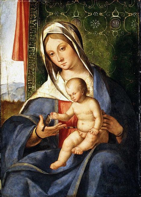 Boccaccio Boccaccino - Madonna and Child. Metropolitan Museum: part 4