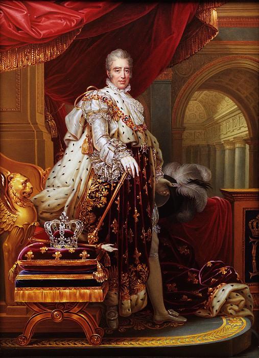 Henry Bone - Charles X (1757–1836), King of France, after Gérard. Metropolitan Museum: part 4