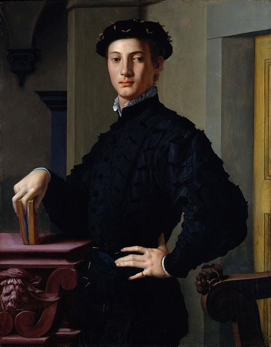 Bronzino (Italian, Monticelli 1503–1572 Florence) - Portrait of a Young Man. Metropolitan Museum: part 4