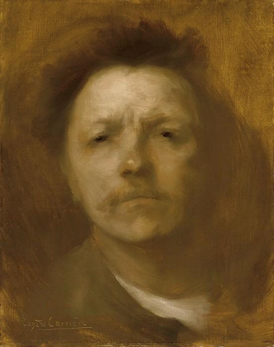 Eugène Carrière - Self-Portrait. Metropolitan Museum: part 4