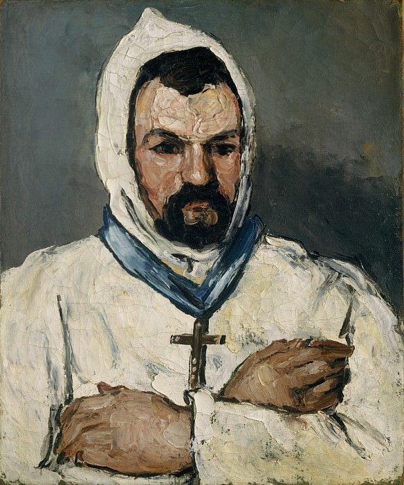 Paul Cézanne - Antoine Dominique Sauveur Aubert (born 1817), the Artist's Uncle, as a Monk. Metropolitan Museum: part 4