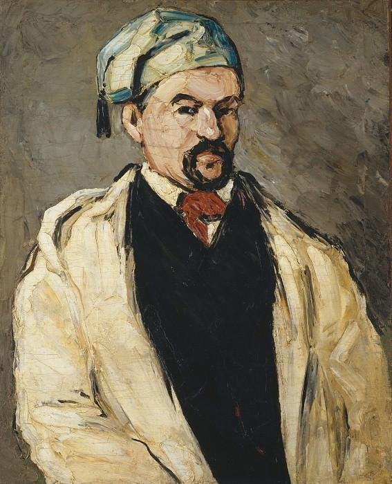 Paul Cézanne - Antoine Dominique Sauveur Aubert (born 1817), the Artist's Uncle. Metropolitan Museum: part 4