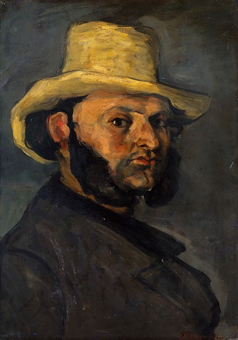 Paul Cézanne - Gustave Boyer (b. 1840) in a Straw Hat. Metropolitan Museum: part 4