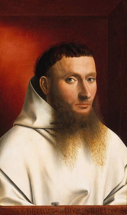 Petrus Christus - Portrait of a Carthusian. Metropolitan Museum: part 4