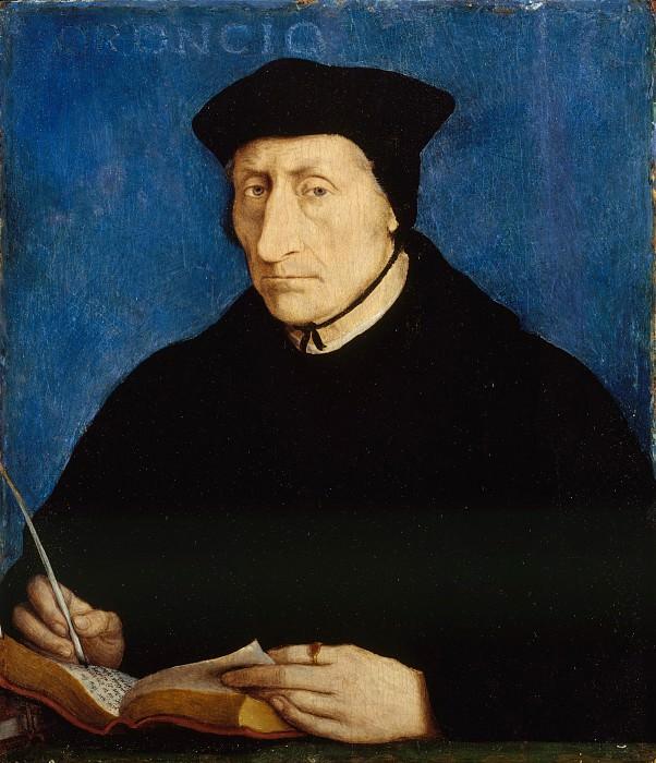 Jean Clouet - Guillaume Budé (1467–1540). Metropolitan Museum: part 4
