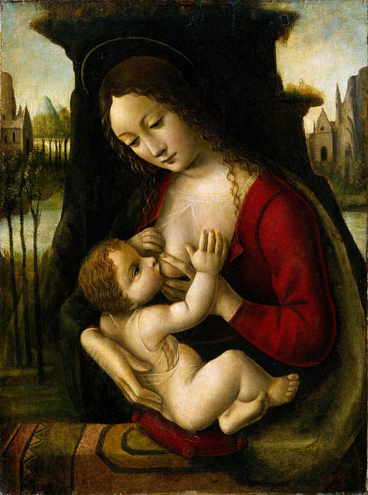Bernardino dei Conti - Madonna and Child. Metropolitan Museum: part 4