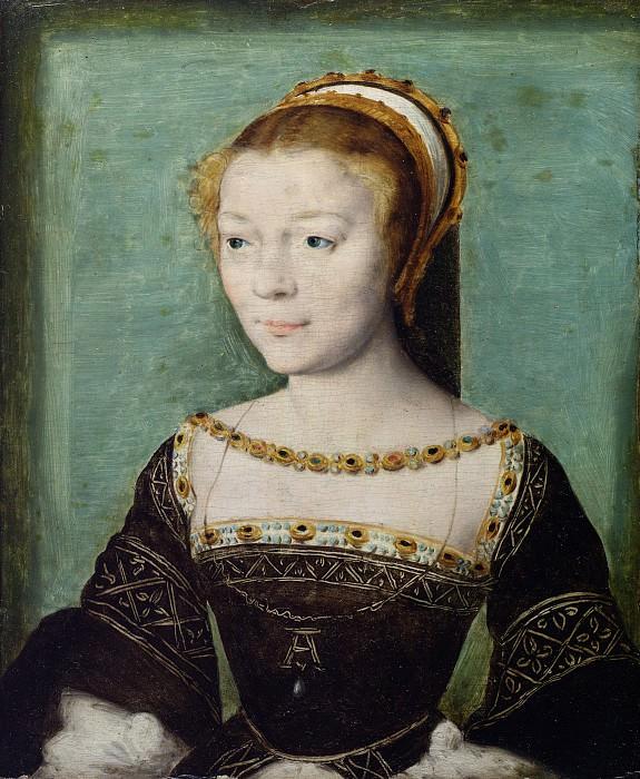 Attributed to Corneille de Lyon - Anne de Pisseleu (1508–1576), Duchesse d'Étampes. Metropolitan Museum: part 4