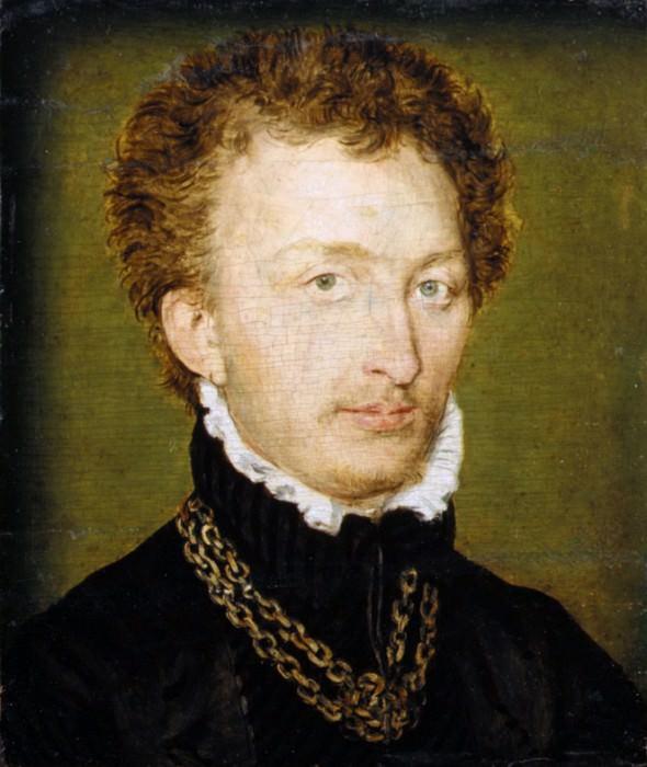 Приписывается Корнель де Лион - Портрет мужчины с золотой цепочкой. Музей Метрополитен: часть 4