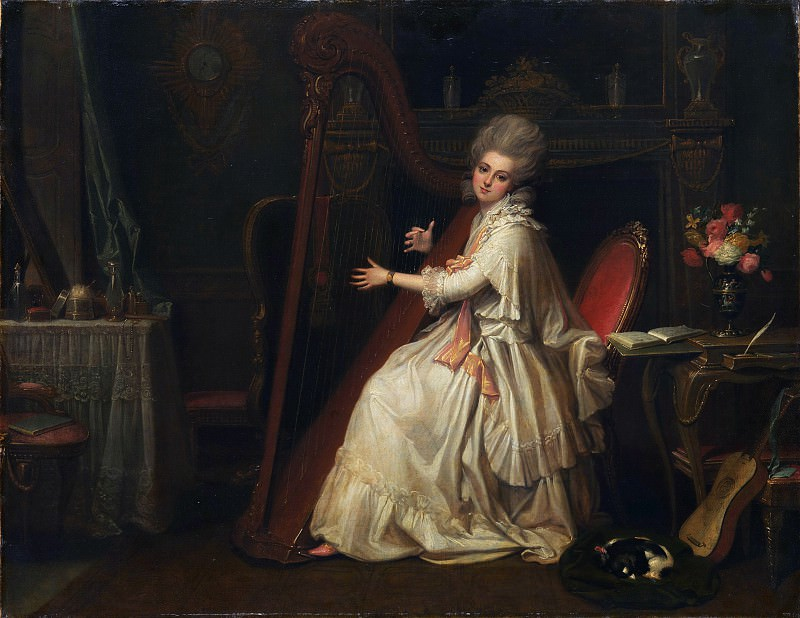 Richard Cosway - Marianne Dorothy Harland (1759–1785), Later Mrs. William Dalrymple. Metropolitan Museum: part 4
