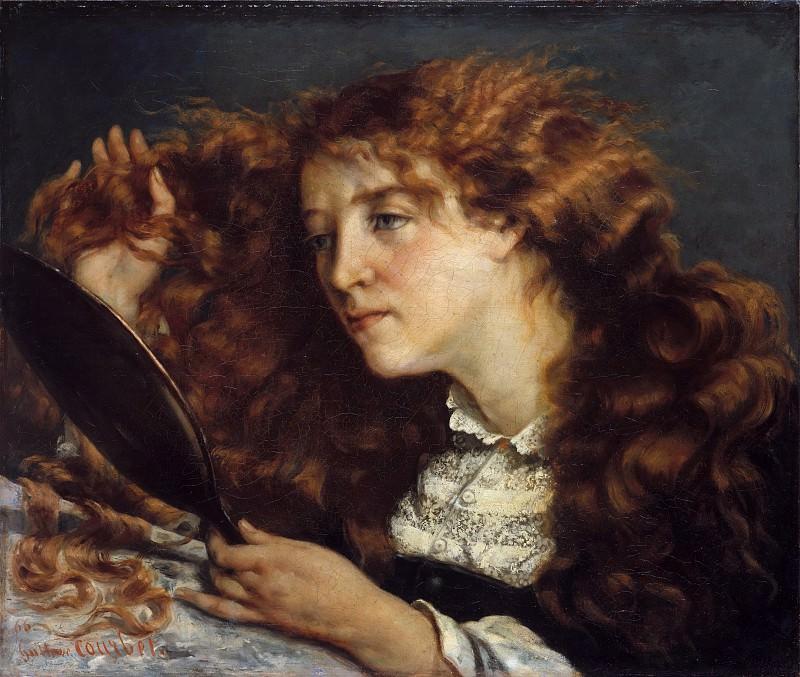 Gustave Courbet - Jo, La Belle Irlandaise. Metropolitan Museum: part 4