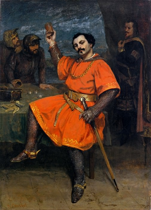 Gustave Courbet - Louis Gueymard (1822–1880) as Robert le Diable. Metropolitan Museum: part 4