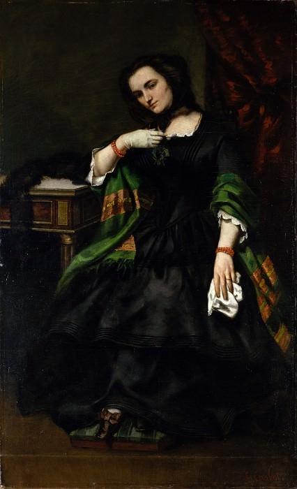 Gustave Courbet - Madame Auguste Cuoq (Mathilde Desportes, 1827–1910). Metropolitan Museum: part 4