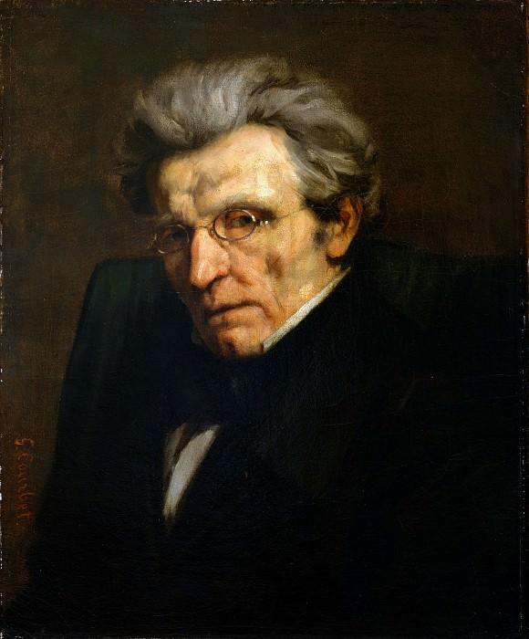 Gustave Courbet - Monsieur Suisse. Metropolitan Museum: part 4