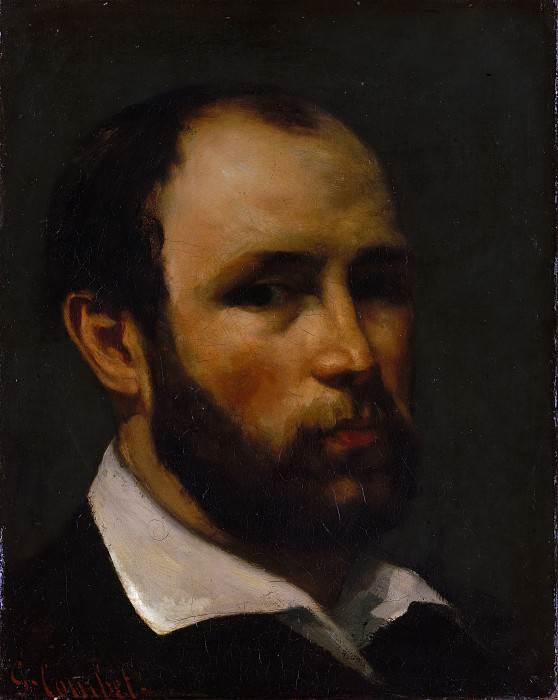 Gustave Courbet - Portrait of a Man. Metropolitan Museum: part 4