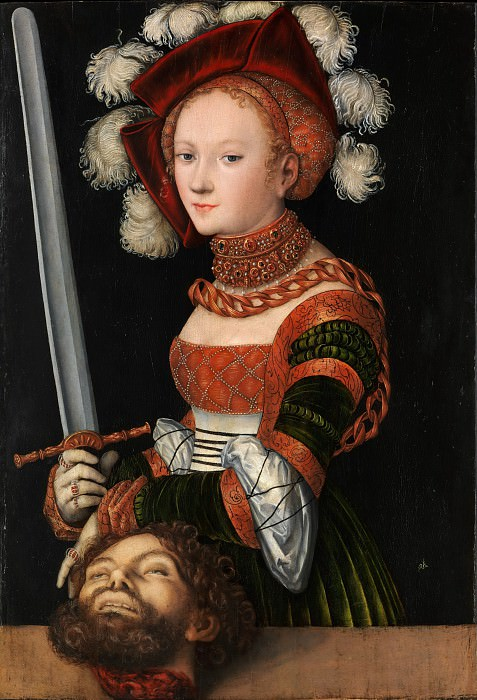 Lucas Cranach the Elder - Judith with the Head of Holofernes. Metropolitan Museum: part 4