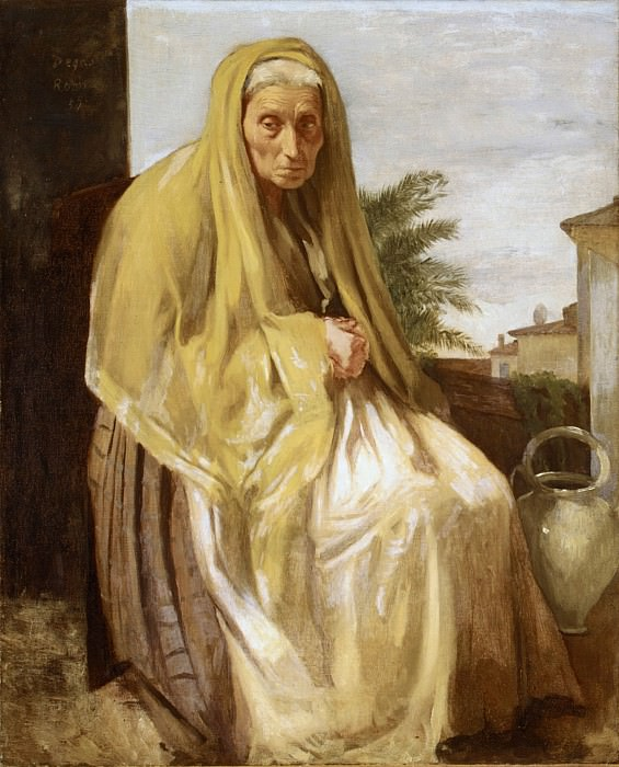 Edgar Degas - The Old Italian Woman. Metropolitan Museum: part 4