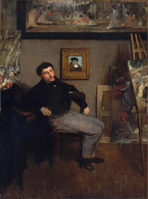 Edgar Degas - James-Jacques-Joseph Tissot (1836–1902). Metropolitan Museum: part 4