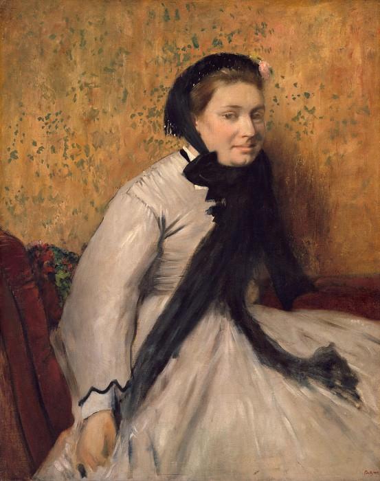 Edgar Degas - Portrait of a Woman in Gray. Metropolitan Museum: part 4