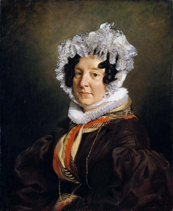 Eugène Delacroix - Madame Henri François Riesener (née Félicité Longrois, 1786–1847). Metropolitan Museum: part 4