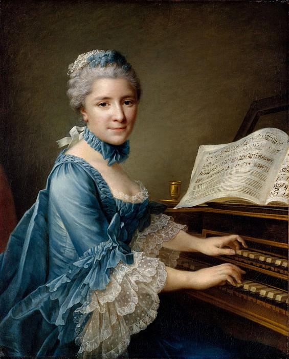 Мадам Шарль-Симон Фавар (Мари Жюстин Бенуа Дюронкрэ, 1727-1772). Франсуа-Юбер Друэ