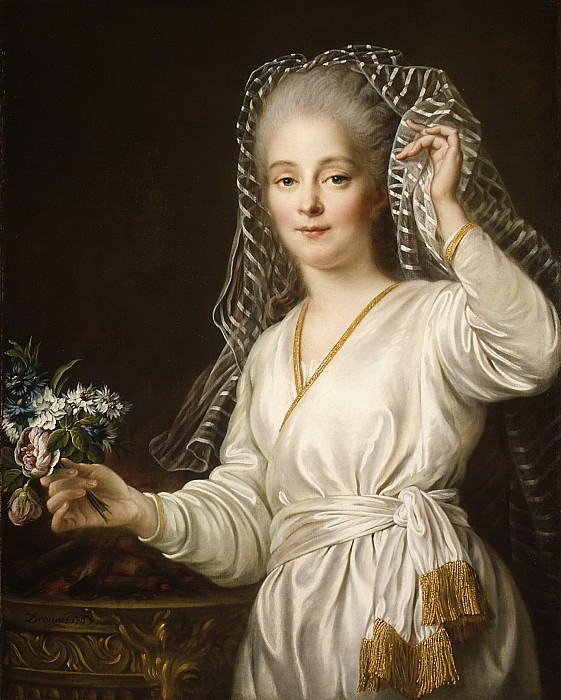 François Hubert Drouais - Portrait of a Young Woman as a Vestal Virgin. Metropolitan Museum: part 4