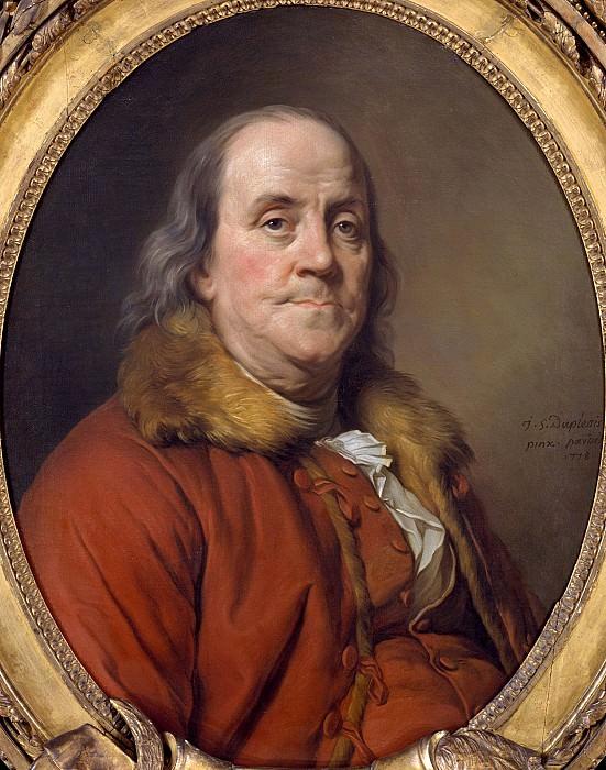 Joseph Siffred Duplessis - Benjamin Franklin (1706–1790). Metropolitan Museum: part 4