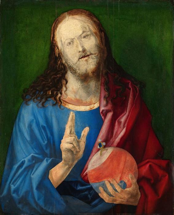 Salvator Mundi. Albrecht Dürer