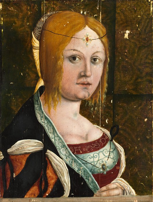 Style of Albrecht Dürer - Portrait of an Italian Woman. Metropolitan Museum: part 4