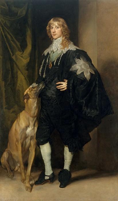Антонис ван Дейк - Джеймс Стюарт (1612-1655), герцог Ричмонда и Леннокса. Музей Метрополитен: часть 4