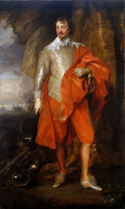 Anthony van Dyck - Robert Rich (1587–1658), Second Earl of Warwick. Metropolitan Museum: part 4
