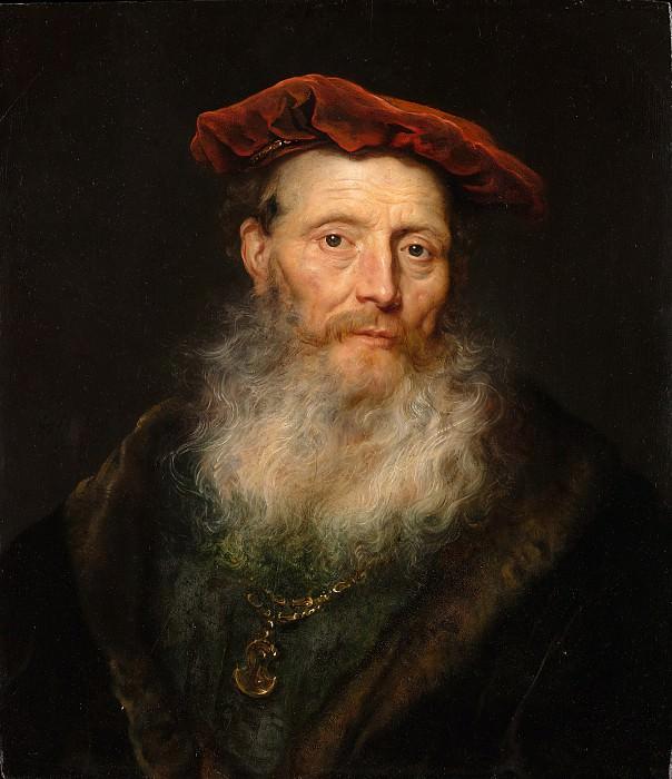 Govert Flinck - Bearded Man with a Velvet Cap. Metropolitan Museum: part 4